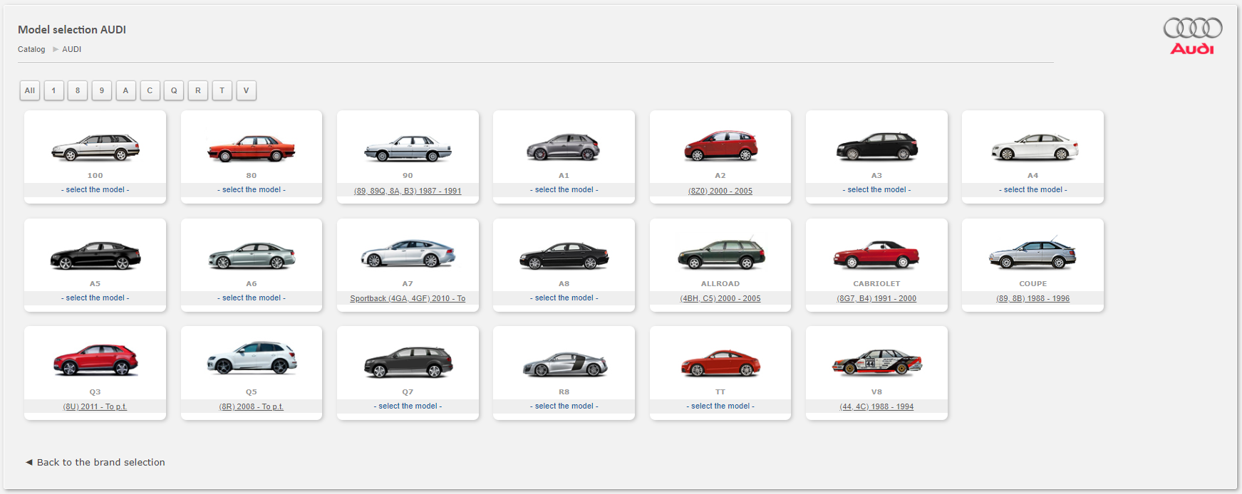 Audi Auto Spare Parts