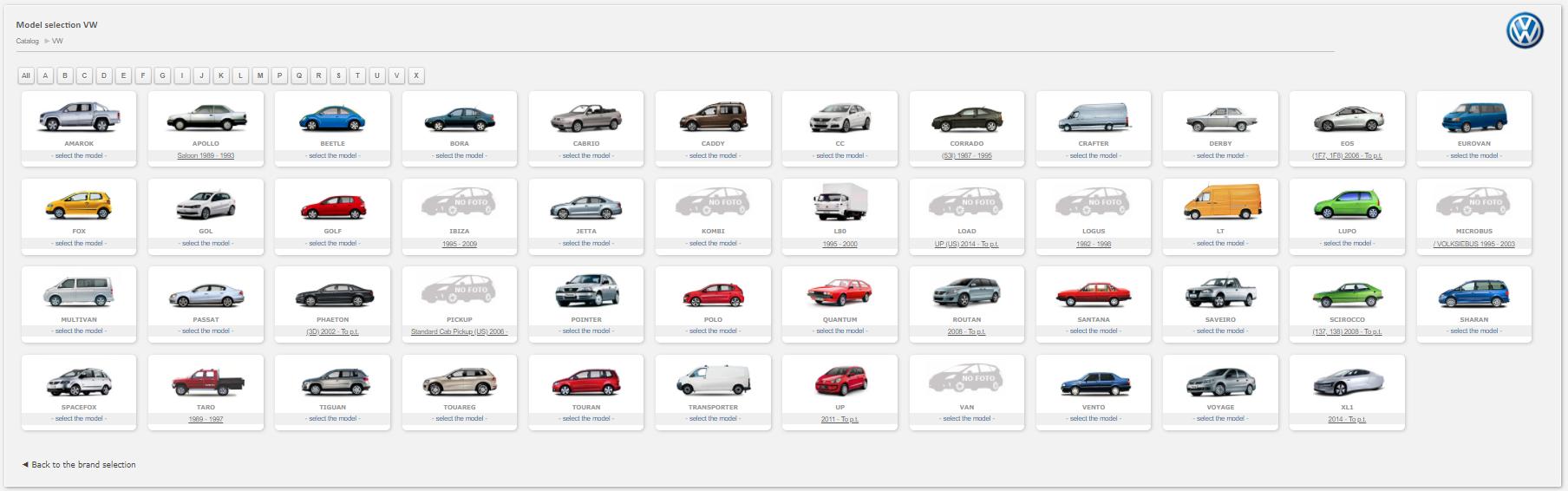 VW Auto Spare Parts